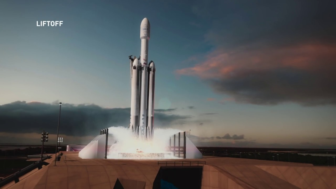 SpaceX Falcon Heavy's third launch set for Monday night in
