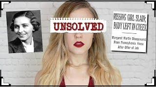 BRUTAL AND UNSOLVED: THE CASE OF MARGARET MARTIN