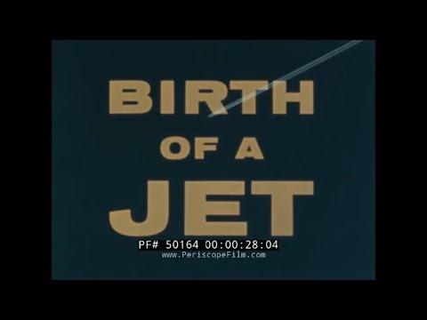 "DOUGLAS DC-8 PASSENGER JET PROMOTIONAL FILM  ""BIRTH OF A JET"" 50164"