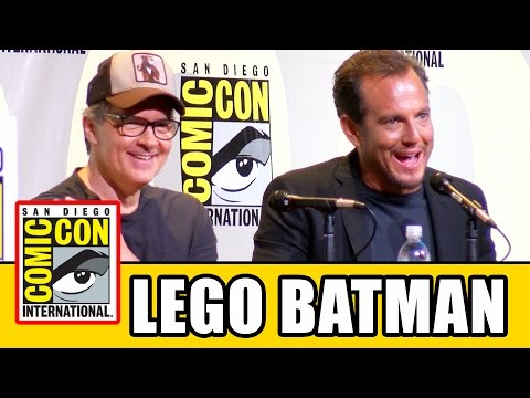 LEGO BATMAN MOVIE Comic Con Panel Highlights - Will Arnett & Chris McKay