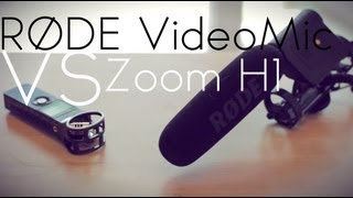 Rode Videomic vs Zoom H1