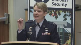 LENS Conference 2017: Cyber, Security & Surveillance  | Col. Linell Letendre