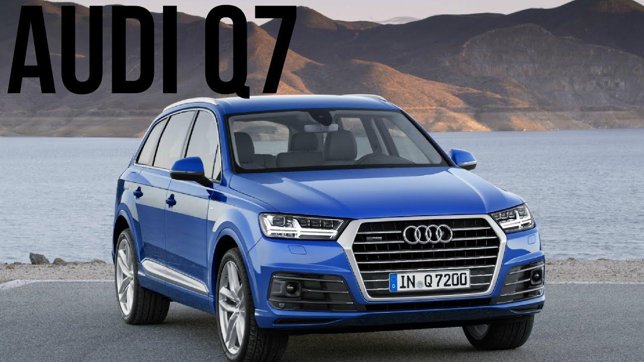 File audi q7 3 0 tdi quattro s line ii frontansicht 3 januar - 2016 Audi Q7 Ara Blue S Line Drive And Design Youtube