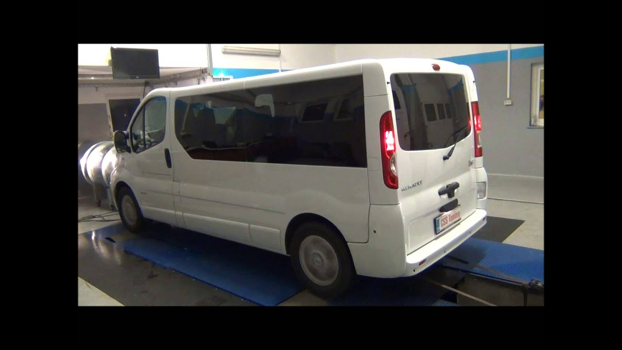 css performance renault trafic 2 0 dci 114 hp youtube. Black Bedroom Furniture Sets. Home Design Ideas