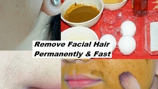 How to Remove Facial Hair Permanently & Naturally