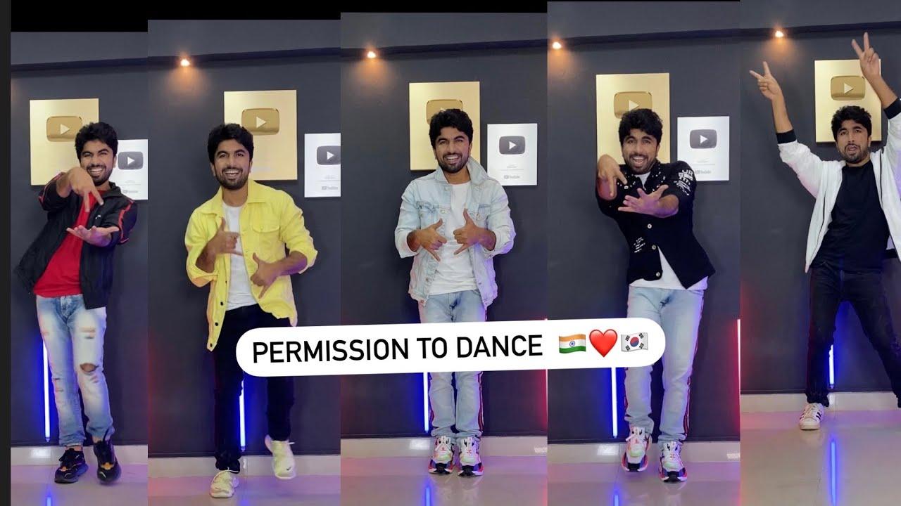 Permission To Dance - BTS   Kunal More   #Shorts #permissiontodance
