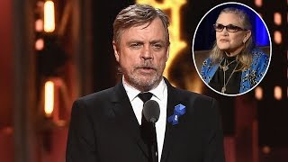 Mark Hamill Honors 'Princess' Carrie Fisher During Tony Awards 'In Memoriam' Segment