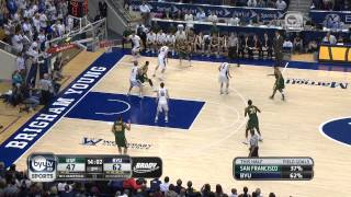 San Francisco vs. BYU Basketball Highlights