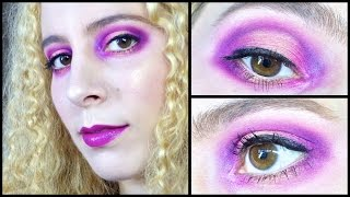 GRWM Interstellar: Nebula Inspired Makeup ft Sugarpill & Urban Decay Thumbnail