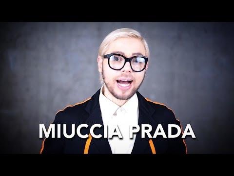 How to pronounce MIUCCIA PRADA
