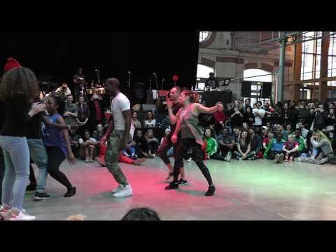 Paris Salsa Hip hop Battle 2 14012018 – Battle 4 vs 4 – www.salsaguide.fr