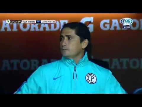 Boca Juniors 3x1 Cerro Porteño - Todos Los Goles