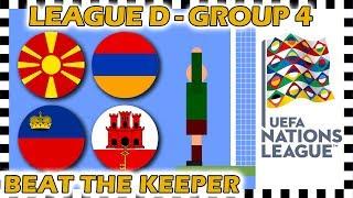Marble Race - UEFA Nations League 2018/19 Prediction - League D - Group 4 - Algodoo