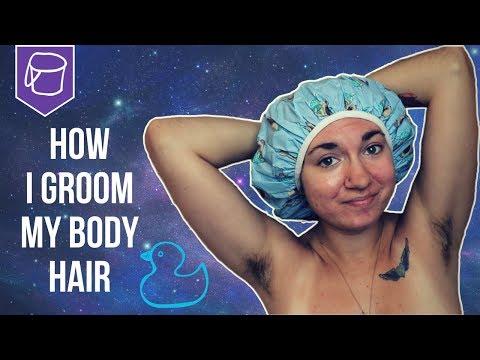 Hairy bbw showers