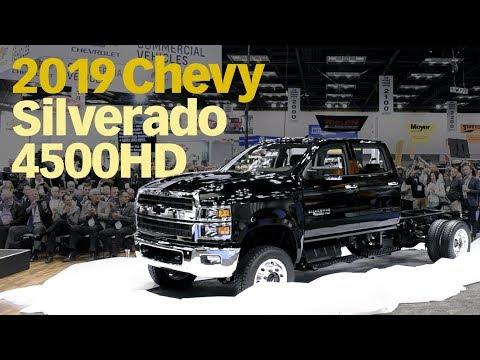 2019 Chevrolet Silverado 4500hd Medium Duty Truck Reveal Youtube