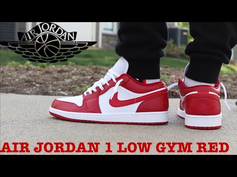 Review And On Feet Of The Air Jordan 1 Low Gym Red The Best Lows