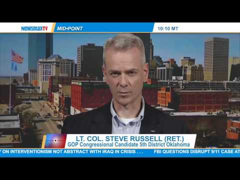 Lt. Col. Steve Russell (ret.): The GOP candidate for Oklahoma's 5th Congressional District