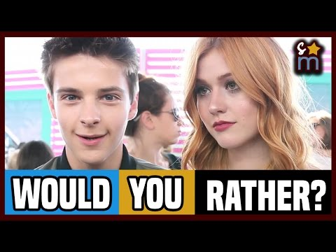 Celebs Play WOULD YOU RATHER? - Teen Choice 2016 | Interview