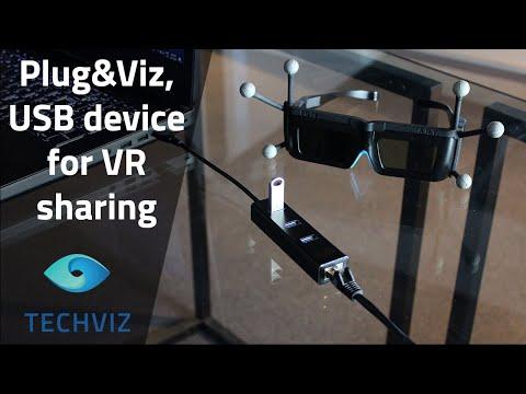 TechViz introduces Plug&Viz, a portable, easy to use and multiport adaptor