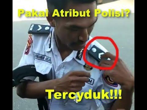 Satpam Memakai Atribut Polisi, Ini yang di Lakukan Polisi