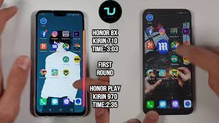 Honor 8X vs Honor Play Speed test/Comparison! Kirin 710 vs 970