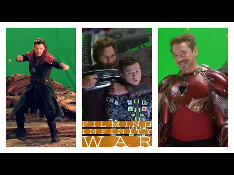 Filming Avengers: Infinity War | Behind the Scenes (B-Roll)