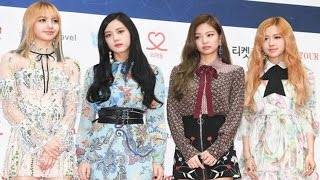 BLACKPINK(블랙핑크) Gaon Chart KPOP Awards Red Carpet (BOOMBAYAH, WHISTLE, JISOO, JENNIE, ROSE, LISA)