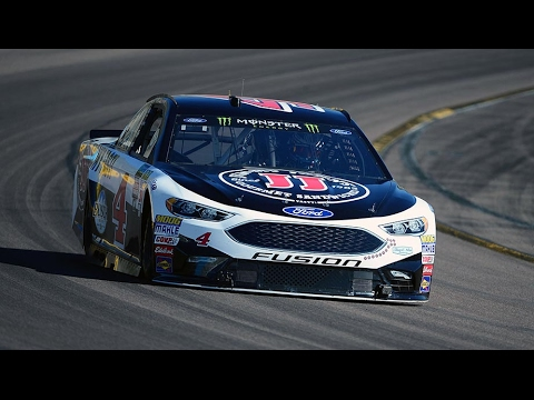 Kevin Harvick turns first laps in a Ford at Phoenix