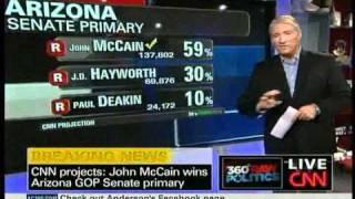 John McCain Wins Arizona Republican Primary Over J.D. Hayworth