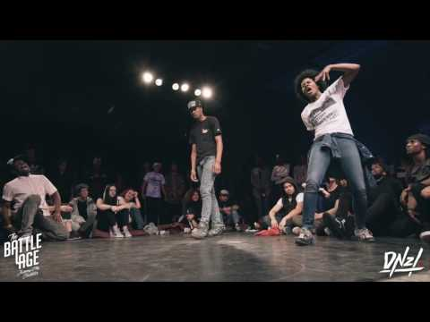 The Battle Age 2016: 7-to-smoke Krump || DNZL.