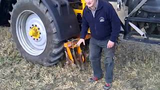 Martyn Silgram explains the importance of low ground-pressure tyres at Tillage-Live 2011