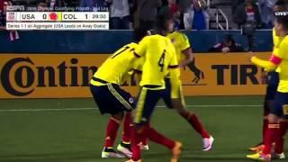 U-23 MNT vs. Colombia: Roger Martínez First Goal - March 29, 2016
