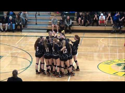 Roseburg High School Volleyball Highlights 2015