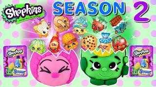 NEW 2015 Shopkins Giant Season 2 Play Doh Surprise Eggs Littlest Pet Shop MLP Rare Toys