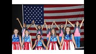 USA FREEDOM KIDS DANCE REMIX [OFFICIAL MUSIC VIDEO]- National Anthem Part 2