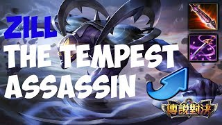 THE TEMPEST/MAGE ASSASSIN: ZILL!!! | STRIKE OF KINGS: TEST SERVER |