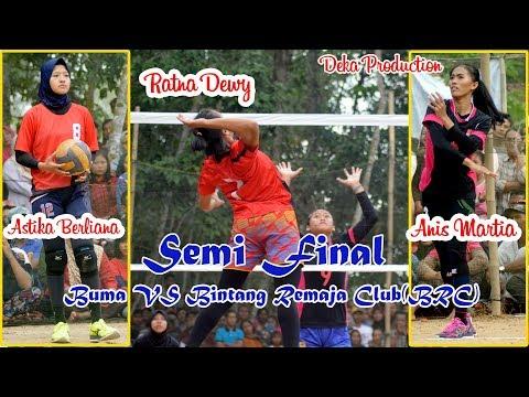 "Adu Spike Anis VS Ratna ""Buma VS Bintang Remaja Club BRC ""   Deka Production"