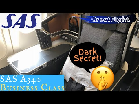 SAS BUSINESS CLASS Copenhagen to Chicago: Great flight, dark secret...