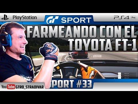 GT SPORT | FARMEANDO CON EL TOYOTA FT-1 | GTro_stradivar Carreras Online
