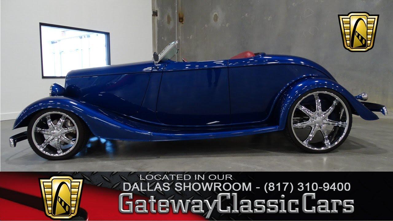 1933 Ford Convertible Stock #13 Gateway Classic Cars Dallas ...