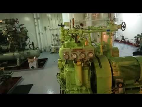 Marine Engine Room Tour on Tanker Ship