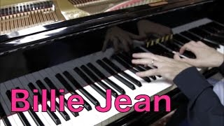 Billie  Jean - Michael Jackson - HD Piano Cover solo Play by ear by Fabrizio Spaggiari