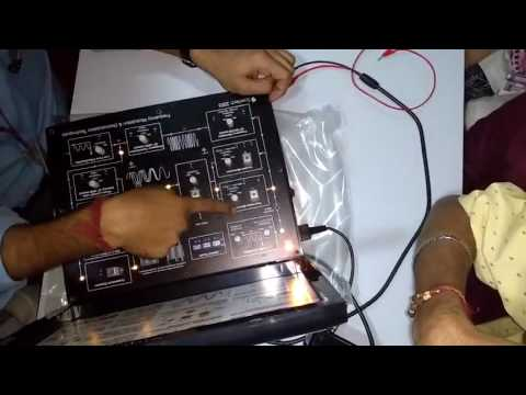 Practical of Frequency modulator and demodulator