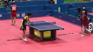 Table Tennis Japan Top 12;Hidetoshi Oya vs Kenji Matsudaira 2013.2.24
