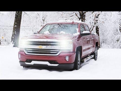 2018 Chevrolet Silverado - The First Day of Spring Snow?
