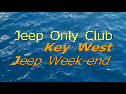 Jeep Only Club Key West, Florida.
