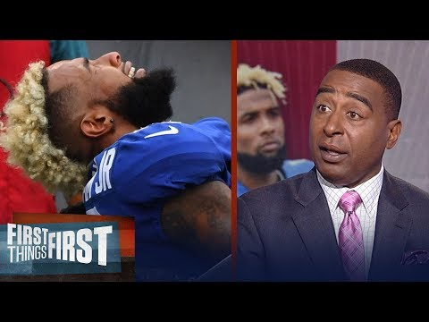 Cris Carter talks about the disappointment behind Odell Beckham Jr