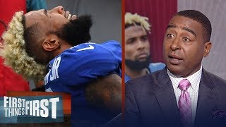 Cris Carter talks about the disappointment behind Odell Beckham Jr's injury | FIRST THINGS FIRST