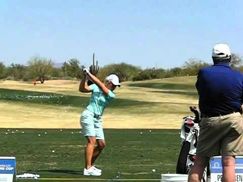 Suzanne Peterson Golf Swing Youtube