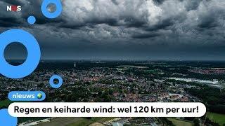 Zondag zware storm verwacht in Nederland